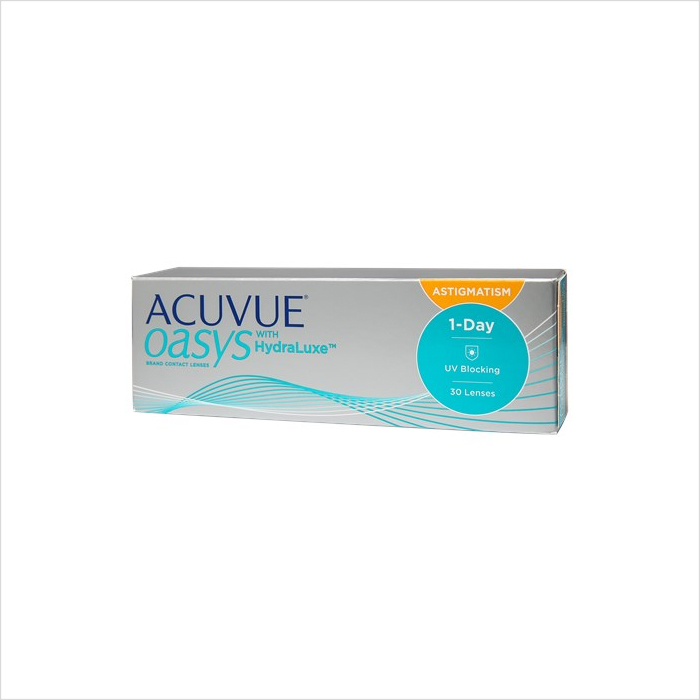 Acuvue Oasys 1 Day for Astigmatism 30 Pack